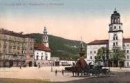 Salzburg, Residenzplatz und Glockenspiel