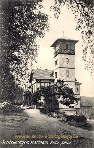 Schleusingen, Waldhaus Villa Anna