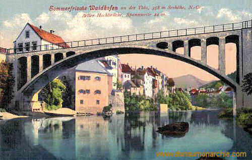 Waidhofen an der Ybbs, Zeller Hochbrücke