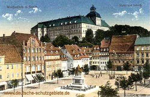 Weißenfels, Markt und Schloss
