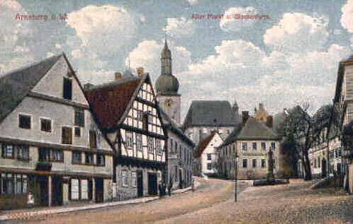 Arnsberg, Alter Markt und Glockenturm