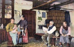 Bauernstube im Erzgebirge