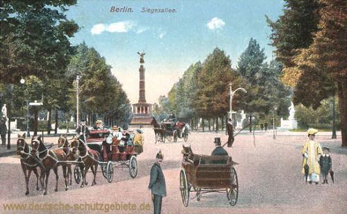 Berlin, Siegesallee
