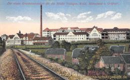 Die neuen Krankenanstalten für die Städte Solingen, Wald, Höhscheid und Gräfrath
