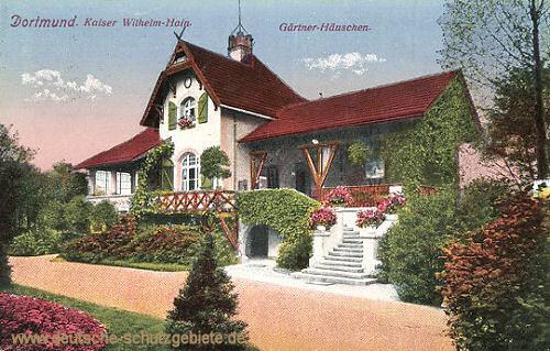 Dortmund, Kaiser Wilhelm-Hain, Gärtner-Häuschen