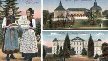 Gotha, Schloss Friedenstein, Museum, Trachten