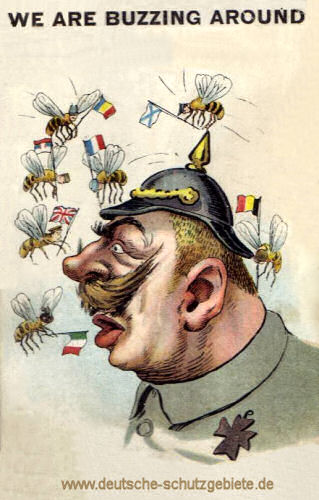 Kaiser Wilhelm II - We are buzzing around