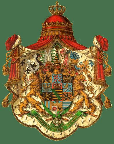 Königreich Sachsen, Wappen