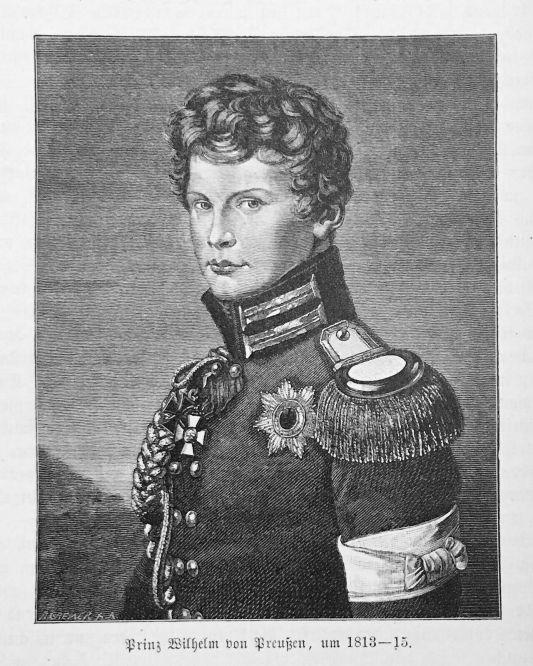 Prinz Wilhelm von Preußen, um 1813-15