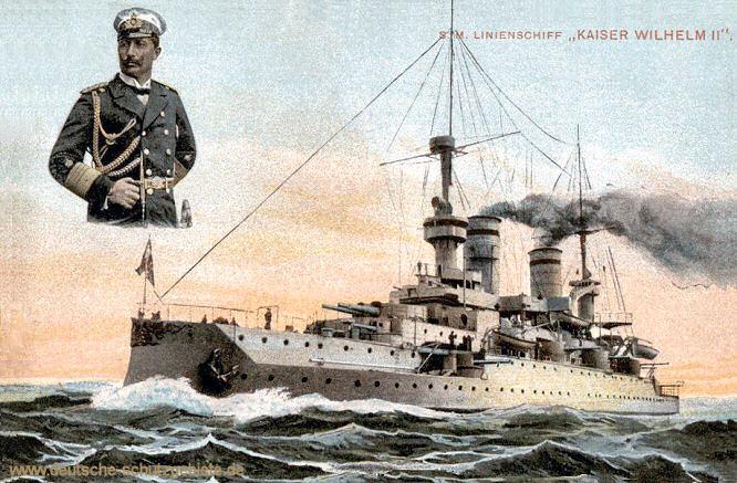 S.M. Linienschiff Kaiser Wilhelm II.