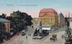 Solingen, Kaiserdenkmal und Kaiserstraße