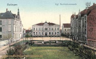Solingen, Königliches Bezirkskommando