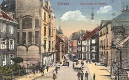 Solingen, Kölnerstraße mit Rathaus