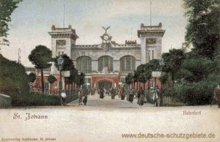 Sankt Johann a. d. Saar, Bahnhof