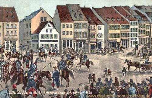 Sankt Johann a. d. Saar, Gefangennahme der Franzosen 1870