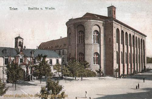 Trier, Basilika und Wache