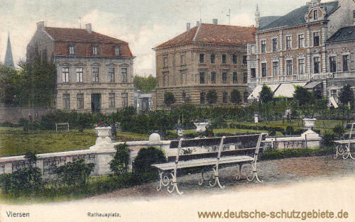 Viersen, Rathausplatz
