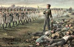 Wesel, Erschießung der elf Schillschen Offiziere 1809