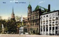 Wesel, Markt mit Rathaus