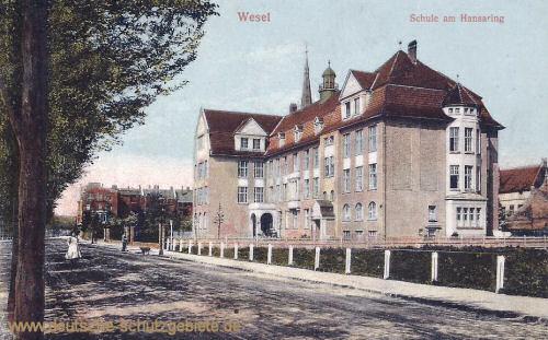 Wesel, Schule am Hansaring
