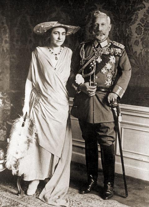 Wilhelm II. mit Hermine