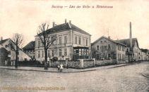Barntrup, Ecke der Wolfs- und Mittelstraße