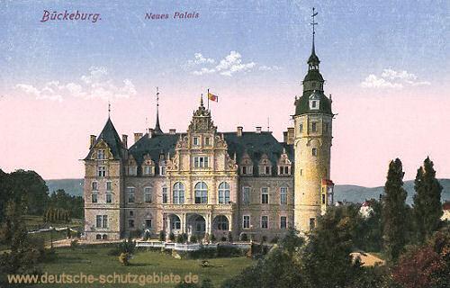 Bückeburg, Neues Palais