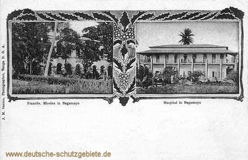 Französische Mission in Bagamoyo - Hospital in Bagamoyo