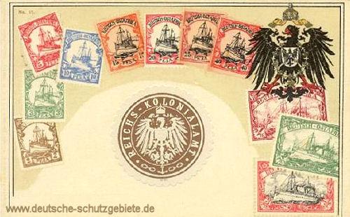 Briefmarken aus Deutsch-Ostafrika