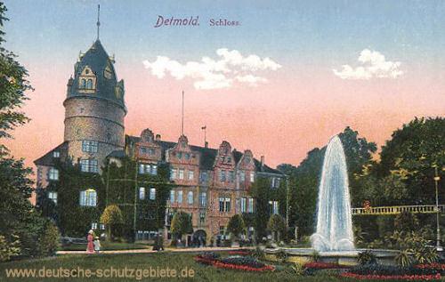 Detmold, Schloss