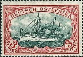 Deutsch-Ostafrika 3 Rupien, 1905