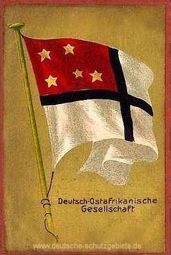 Flagge der Deutsch-Ostafrikanischen Gesellschaft