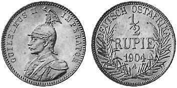 1/2 Rupie (1904)