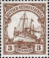 Deutsch-Südwestafrika 3 Pfennig, 1900