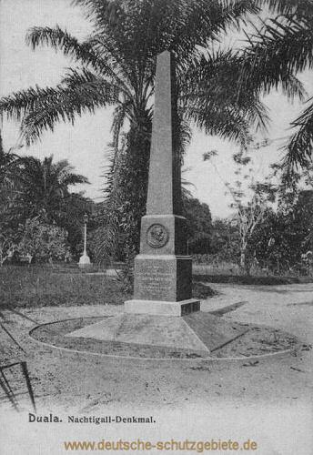 Duala, Nachtigall-Denkmal