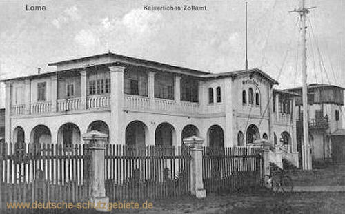 Lome, Kaiserliches Zollamt