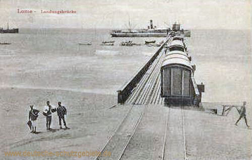 Lome, Landungsbrücke