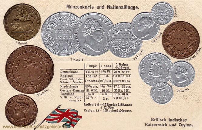 Münzen Britisch-Indien