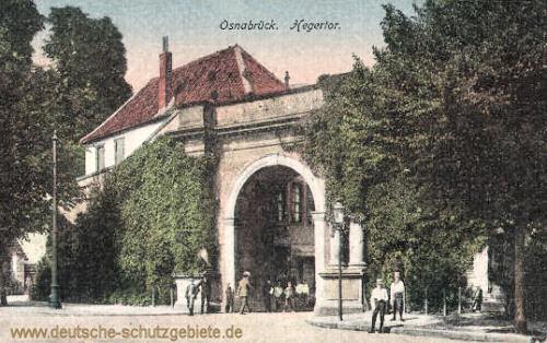 Osnabrück, Hegertor