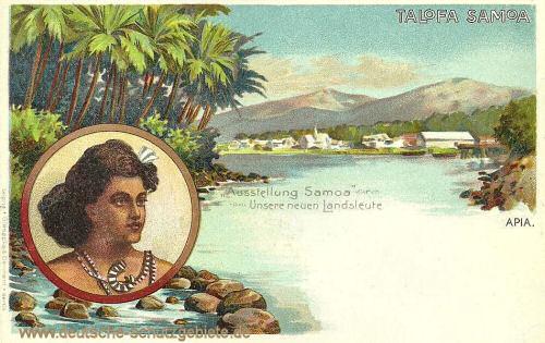 Talofa Samoa, Unsere neuen Landsleute
