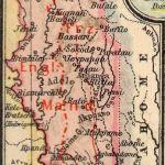 Togo, Landkarte 1919