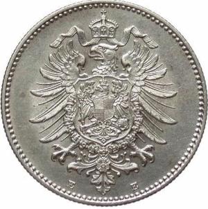 1 Mark 1880