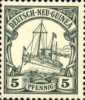 Deutsch-Neu-Guinea, 5 Pfennig, 1901