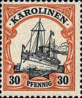 Karolinen, 30 Pfennig, 1900