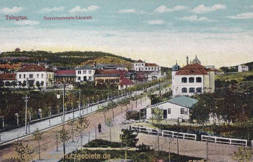 Kiautschou, Tsingtau, Gouvernements-Lazarett