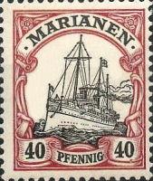 Marianen, 40 Pfennig, 1901