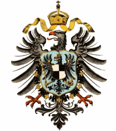 Reichsadler 1871 - 1889