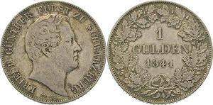 1 Gulden 1841, Friedrich Günther Fürst zu Schwarzburg