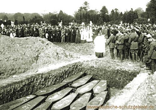 Beisetzung der Lusitania-Opfer