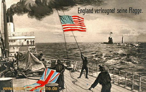 England verleugnet seine Flagge